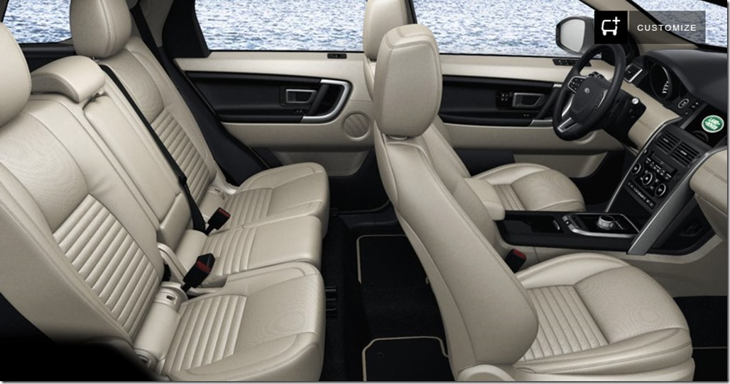 Land Rover Discovery Sport HSE Luxury Interior Colors OVALNEWS