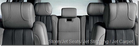 Storm-Jet Seats-Jet Stitching-Jet Carpet