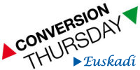 Logo conversion thursday Euskadi