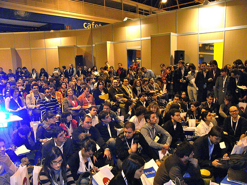 Asistentes a la mesa redonda sobre SEO en OME Madrid 2010