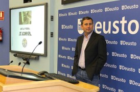 Guillermo Vilarroig, director de Overalia, en el Aula de Marketing Deusto