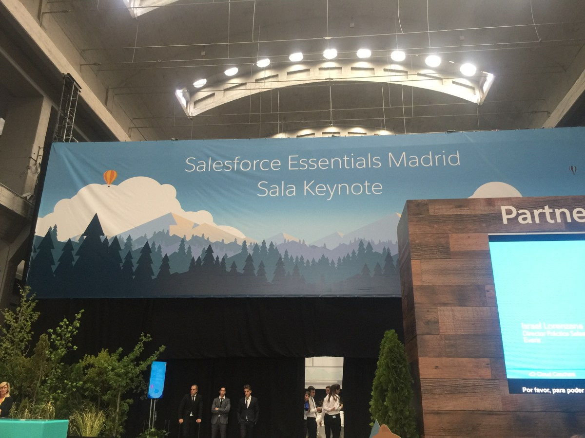 Salesforce Essentials Madrid 2017