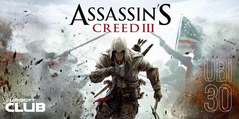 Hasil gambar untuk Assassin's creed 3 gratis ubi30