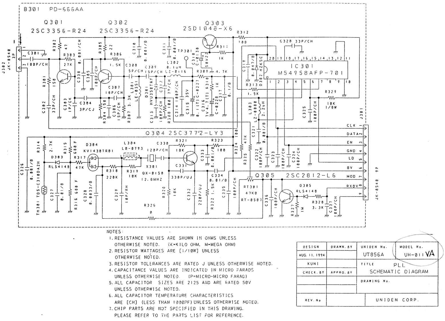 Lovely Uniden Mic Wiring Diagram Images - Electrical Circuit Diagram ...