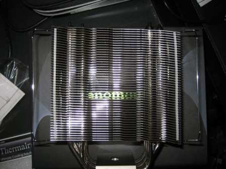 The Thermalright Venomous X CPU Cooler standing 160 mm tall