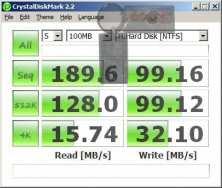 Asus Crystal Disk Mark (normal)
