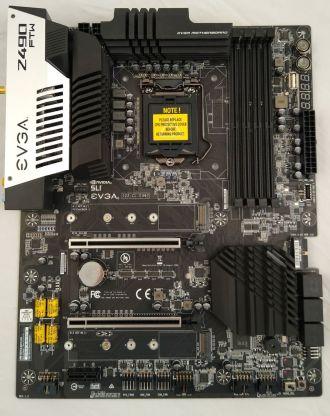 EVGA Z490 FTW 09