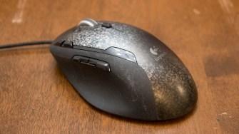 Logitech G500 mouse.