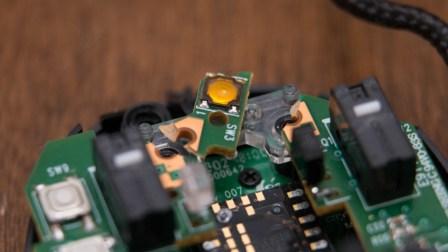 Broken PCB