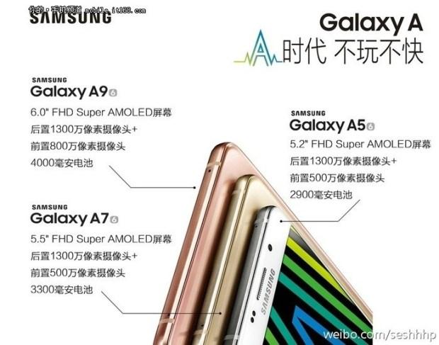 Характеристики ифото Самсунг Galaxy A9 утекли всеть