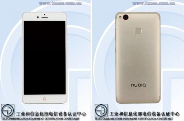 Появилось фото нового смартфона Nubia с камерами 23 и 13 МП
