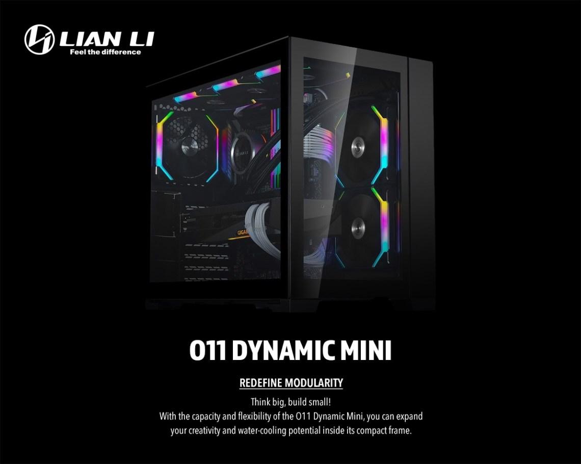 Lian Li представила корпус O11D Mini, АБЗАЦ