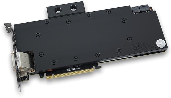Водоблок EK-FC для Nvidia Ge Force 1090 Ti