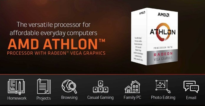 The AMD Athlon 300GE and 320GE hybrid processors are coming soon