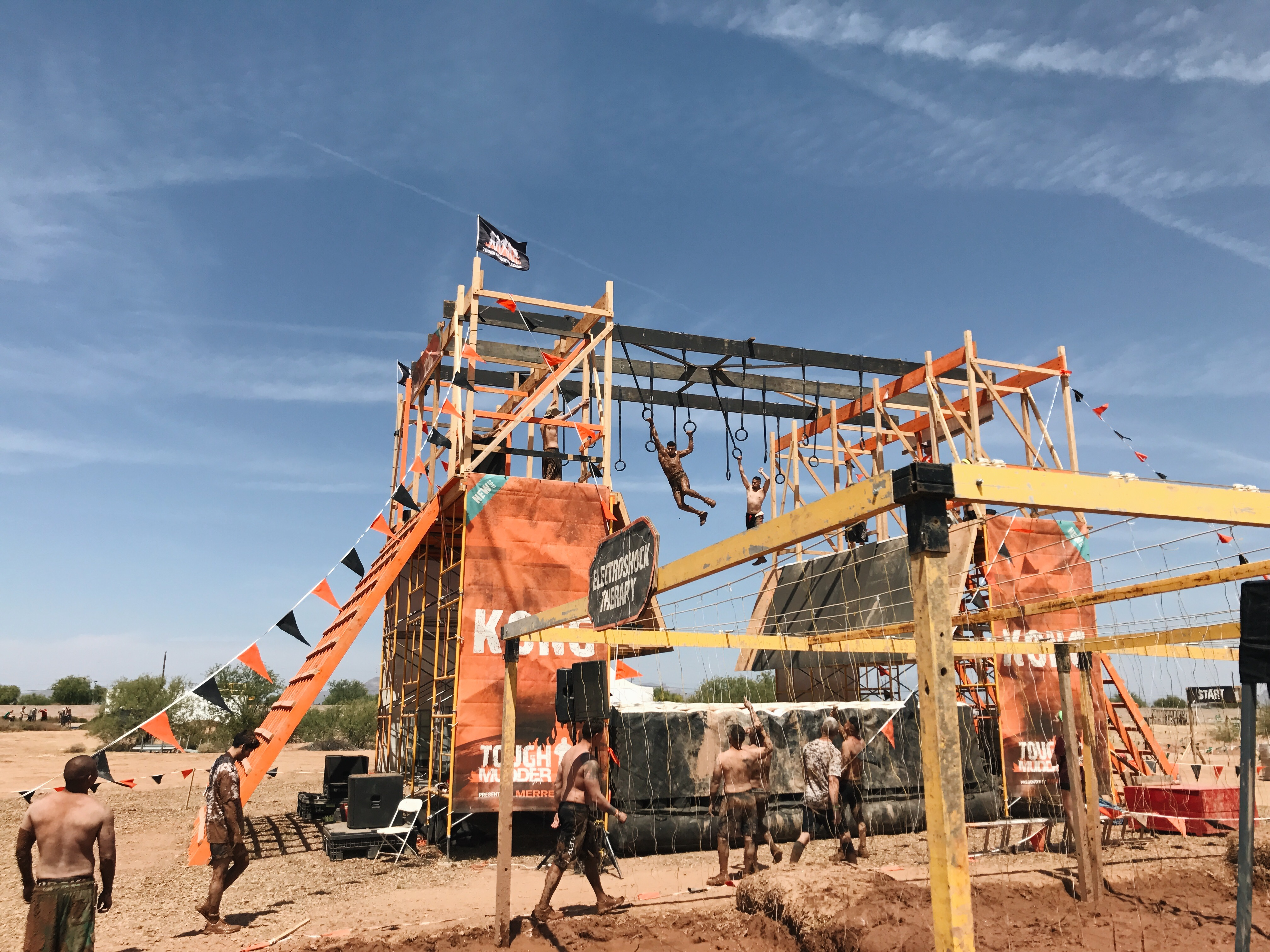 Flat Muddy And Friendly The Arizona Tough Mudder Review