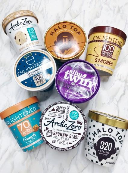 low fat ice cream taste test