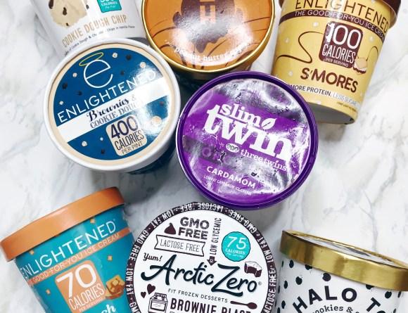 low fat ice cream