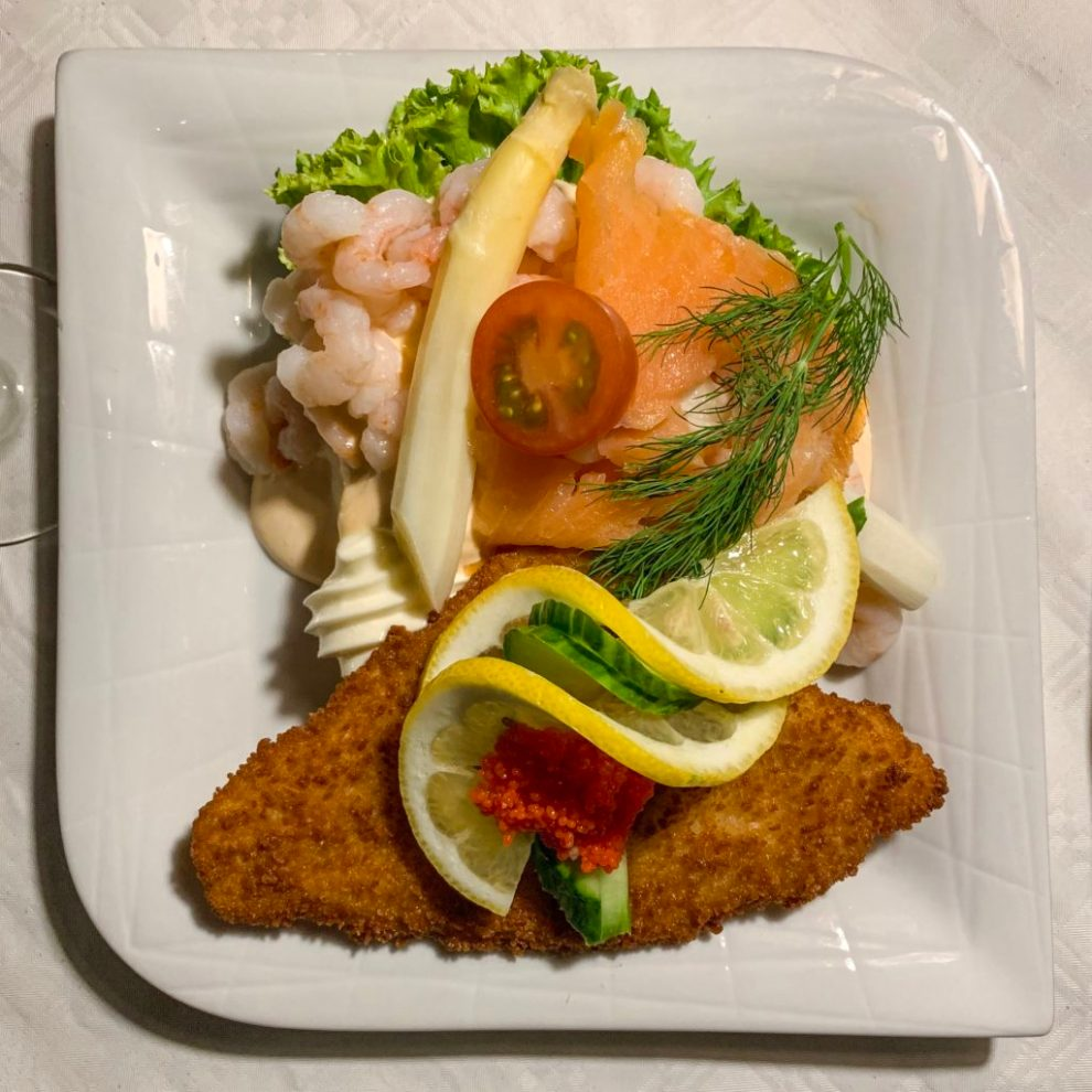 foodie's guide to Denmark: open faced sandwich