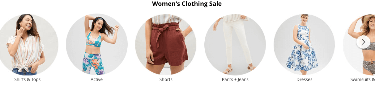 JCPenney Women's clothing Cyber Monday deals
