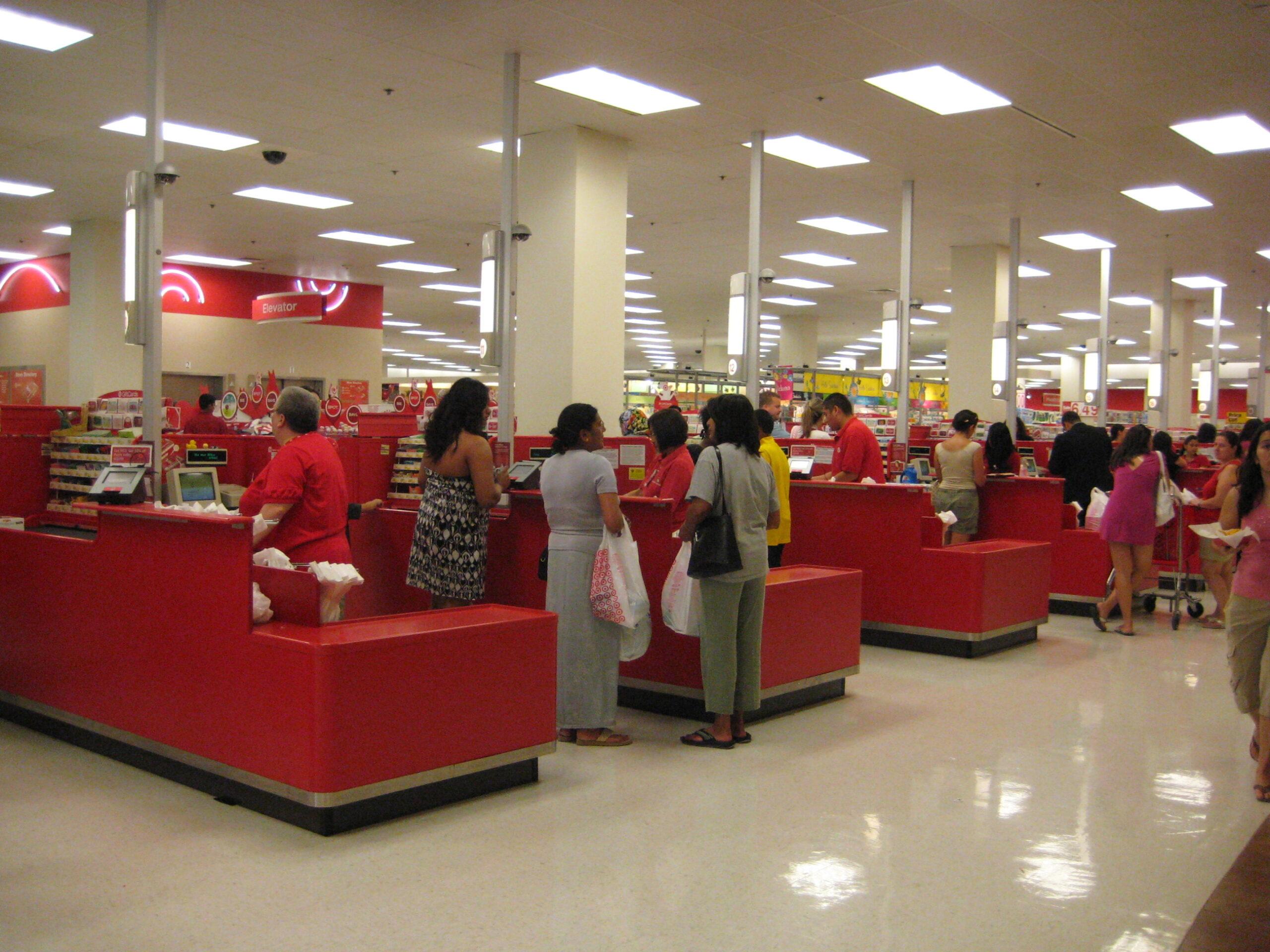 2020 Target Black Friday sale store