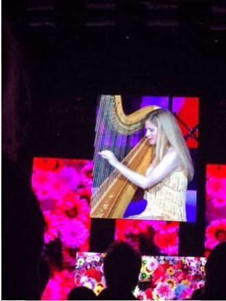 Feest bij concert Rod Stewart