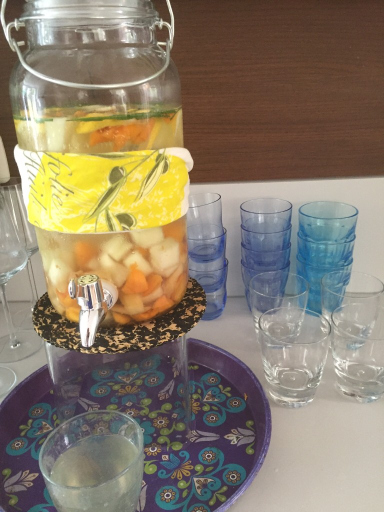 Fruitwater zelf maken