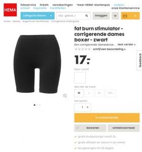 Lingerie, ondergoed, maat, zwart, overhaar blog, lingerie, fat burning stimulator, onderbroek