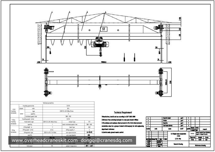 5 ton single girder electric hoist overhead crane drawing?resize=665%2C471 demag hoist wiring diagram wiring diagram Hyet Et1126 Hoist Motor Wiring at bakdesigns.co