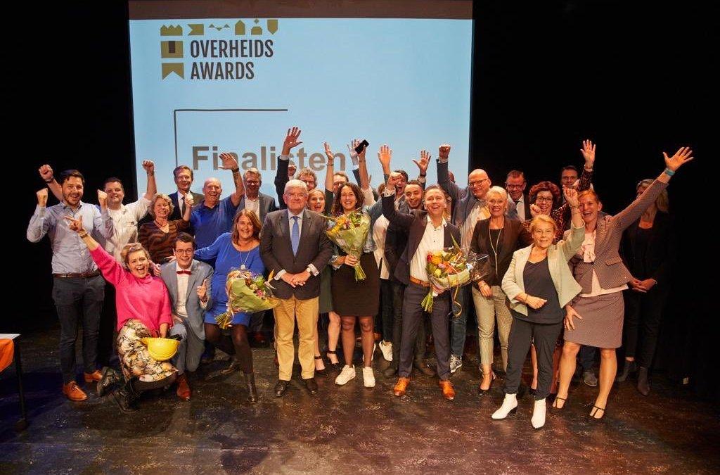 Verkiezing Beste Overheidsorganisatie van het Jaar| Finalisten bekend