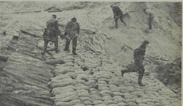 Vierduizend zandzakken zijn nodig om het gat van 's-Gravenzande te dichten