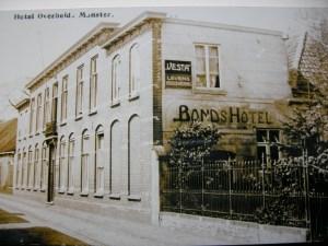 Hotel Overheide in Monster waar de tuinders bijeenkwamen