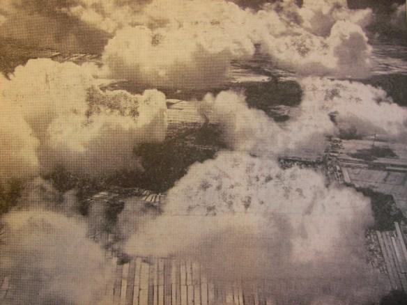 Prachtige foto van een helikopterview over het Westland