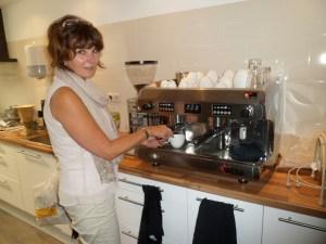 Een kopje koffie drinken is ook mogelijk bij Met Liefde