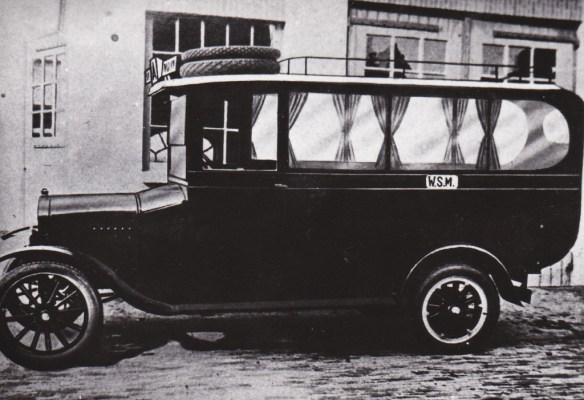 De WSM-bus, die werd ingezet tegen de concurrentie