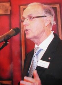 Hans Barendse oud-voorzitter van de Rabobank Midden-Westland