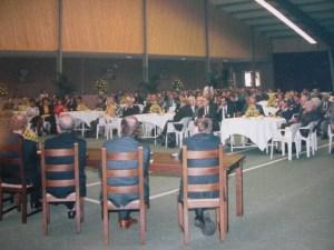 Installatie van burgemeester Wil van den Bos in 1988