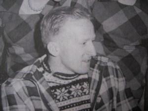 Wim van der Voort bij thuiskomst