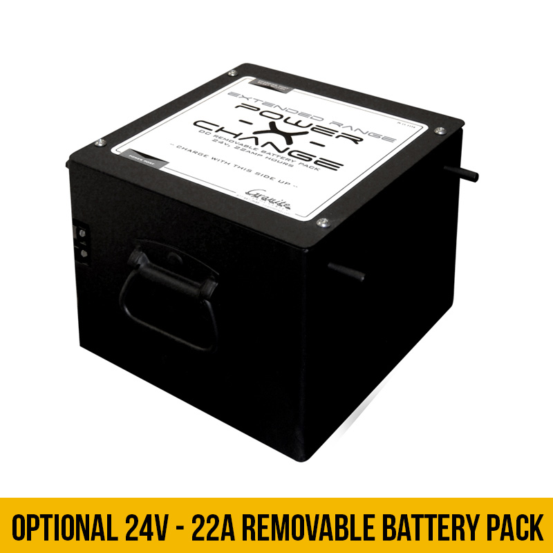 Optional 22A Battery Pack