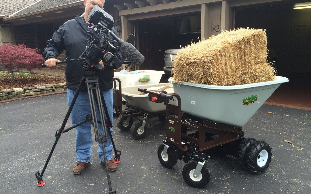 Overland Carts On National TV This Evening (April 6th) and Sunday (April 9th)!