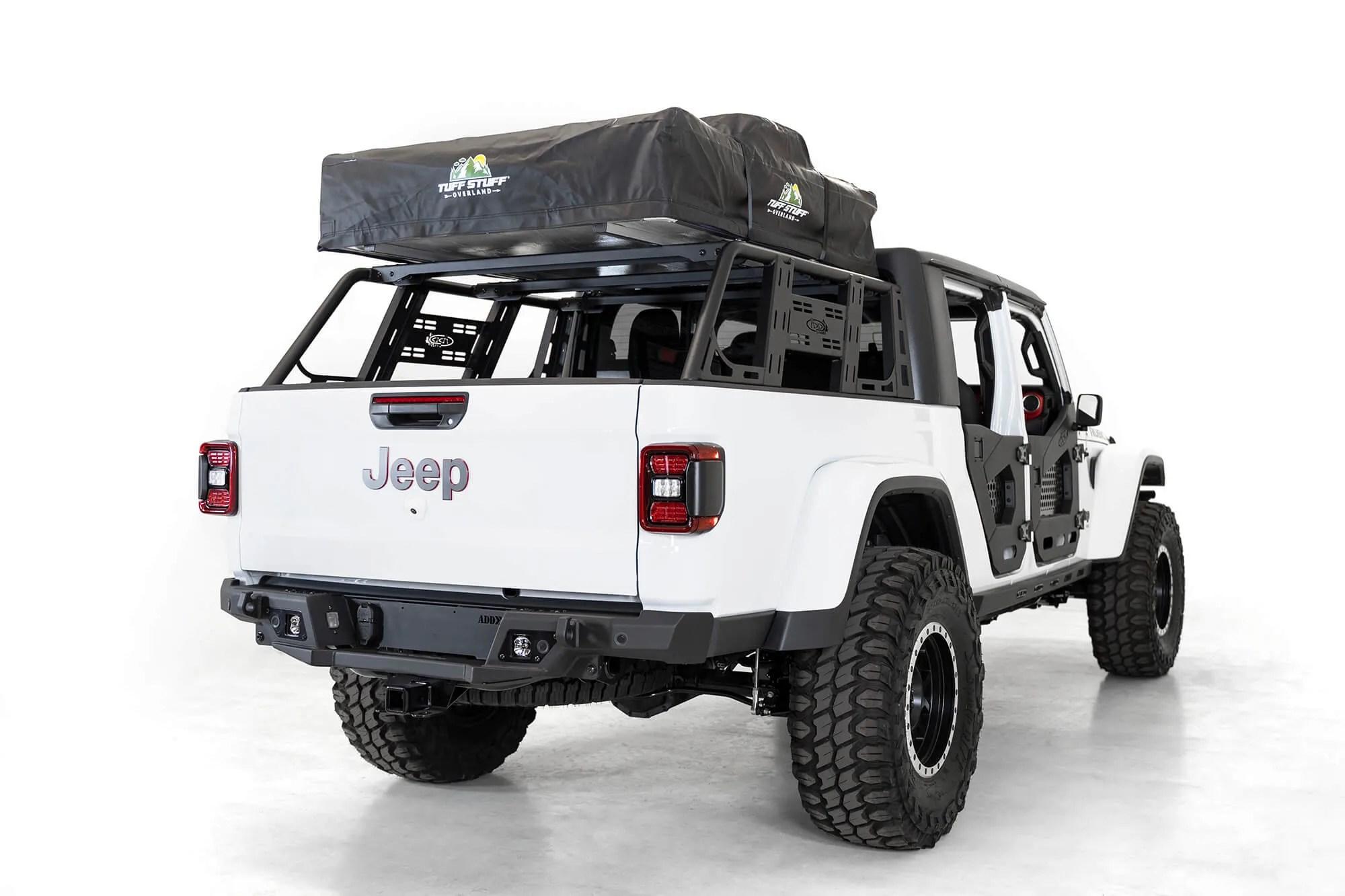 2020 jeep gladiator jt add lander overland rack