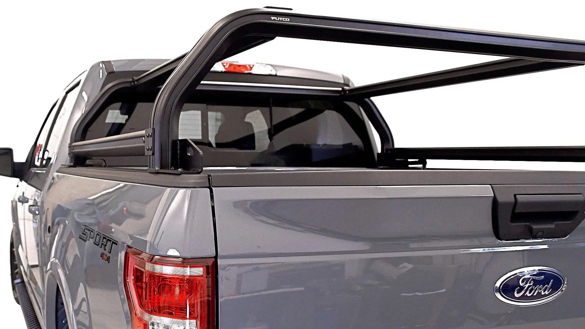 venturetec overland bed rack for ford f150 2015 to present 5 5 bed