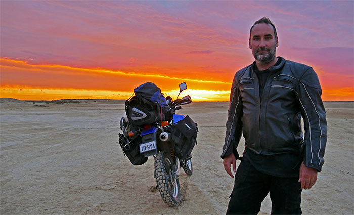 Screening of my Motorcycle Adventure film in New York