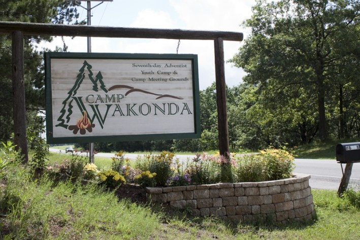 Surprising former students at Camp Wakonda