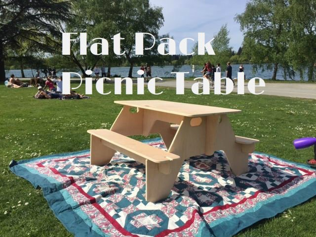 1 Sheet of Plywood = 1 Clever Table