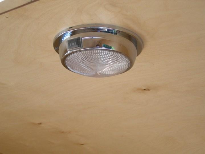 LED marine dome light (red & white light)