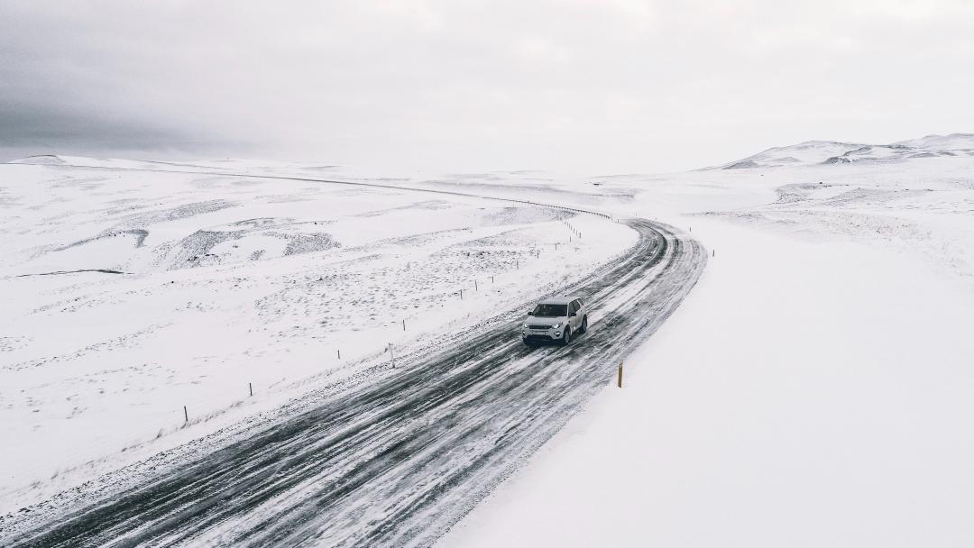 Iceland Winter Road