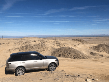 2020 Range Rover support vehicle