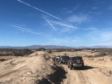 New Defender trail drive