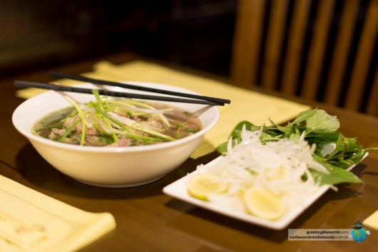Pho, the classic Vietnamese meal
