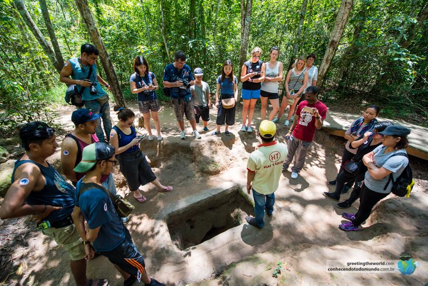 Cu Chi Caves, Vietnam